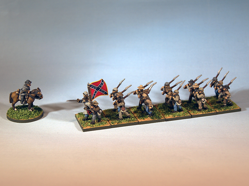 15mm American Civil War miniatures for Regimental Fire & Fury