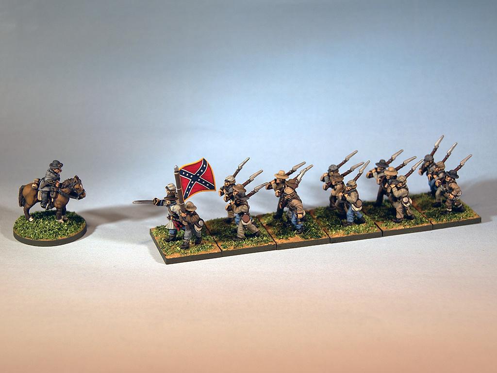 15mm American Civil War miniatures for Regimental Fire & Fury