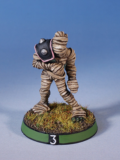 Citadel Miniatures undead Blood Bowl mummy