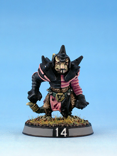 Citadel Miniatures undead Blood Bowl Skaven Zombie