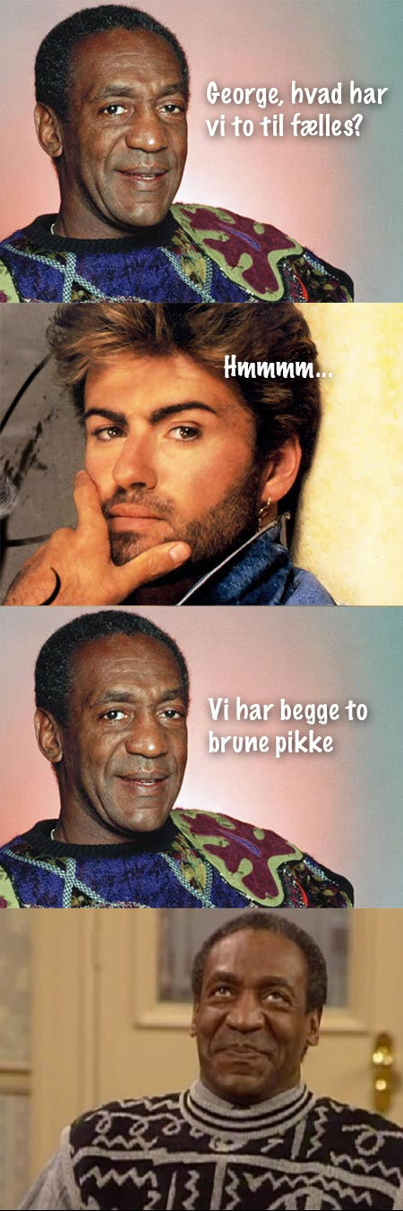 Bill Cosby og George Michael
